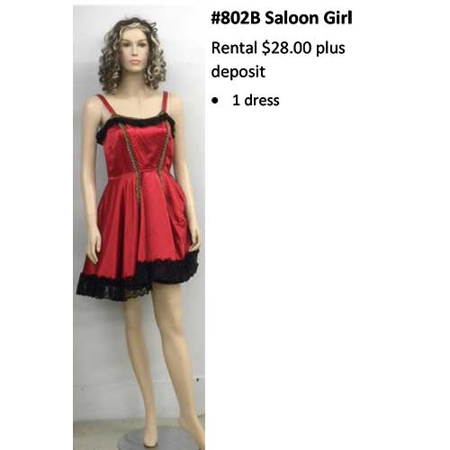802B Saloon Girl