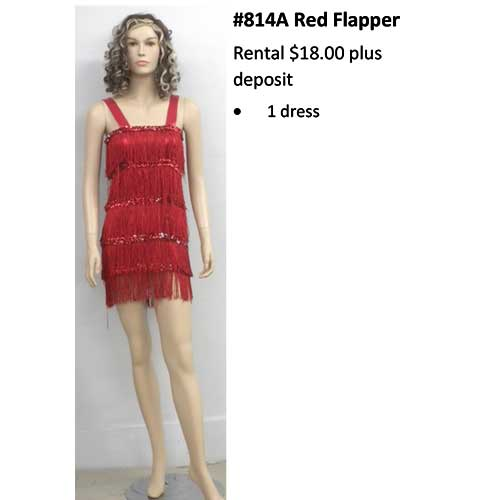 814A Red Flapper