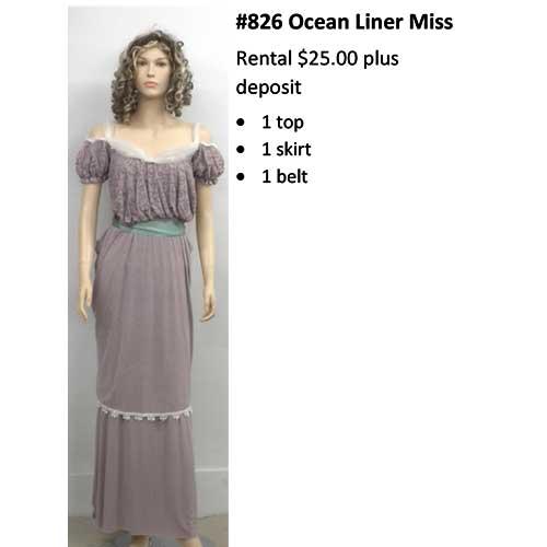 826 OceanLiner Miss