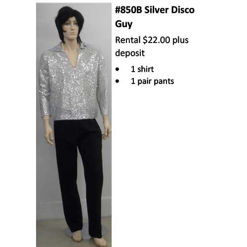 850B Silver Disco Guy