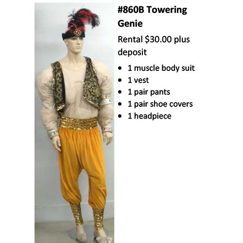 860B Towering Genie