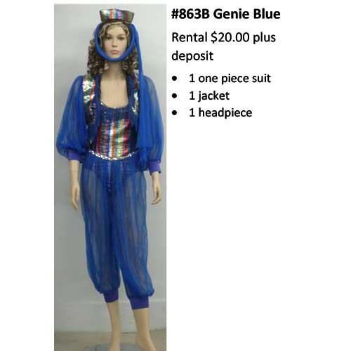 863B Genie Blue