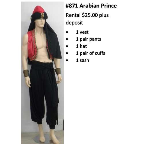 871 Arabian Prince