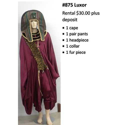 875 Luxor