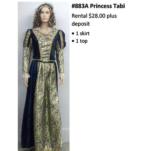 883A Princess Tabi