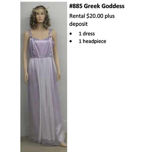 885 Greek Goddesss