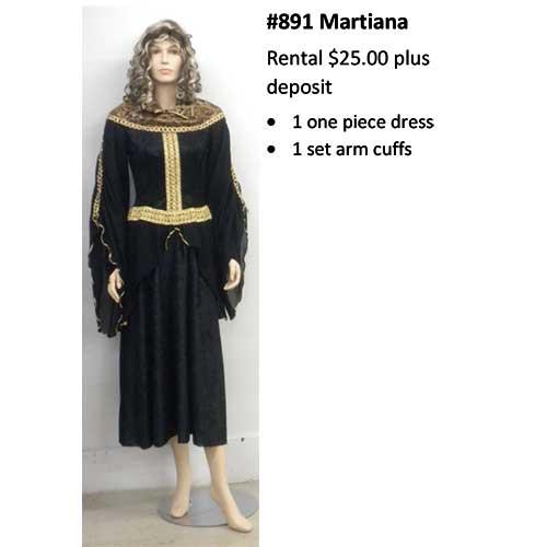 891 Martina