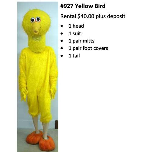 927 Yellow Bird