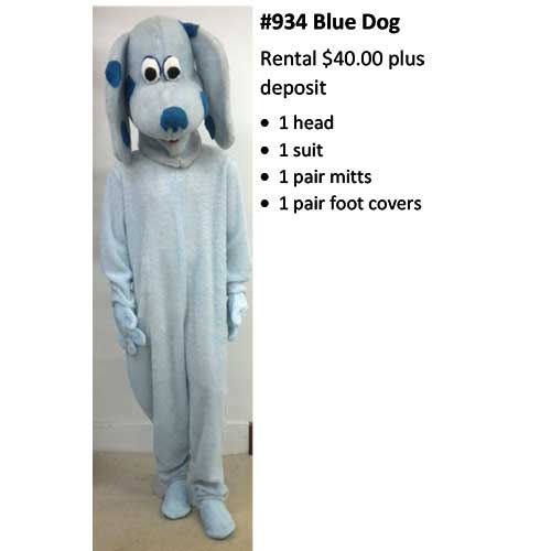 934 Blue Dog