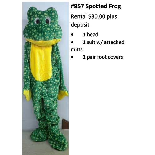 957 Spotted Frog