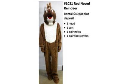1031 Red Nosed Reindeer