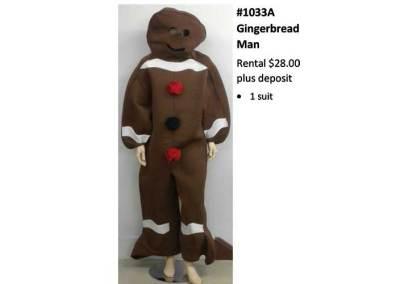 1033A Gingerbread Man
