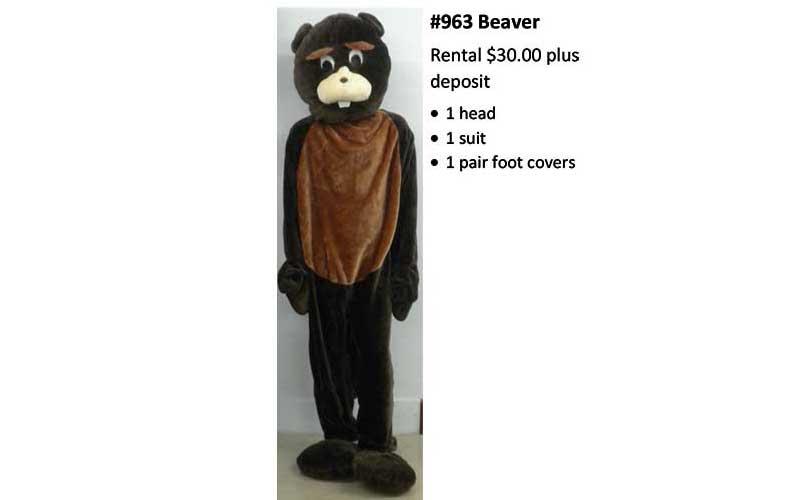 Beaver Costume