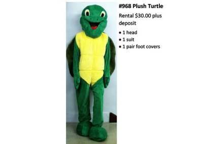 968 Plush Turtle