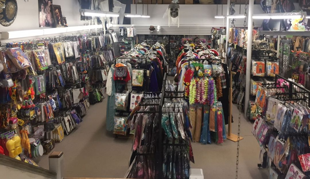 Our costume department