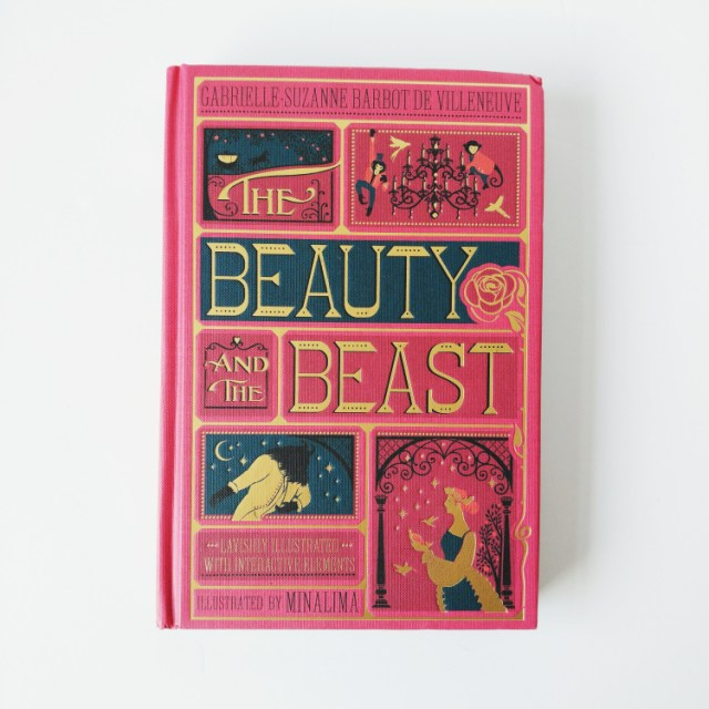 minalima edition of beauty and the beast front cover