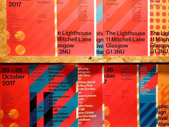 graphic design festival scotland posters