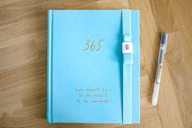 kikki.k 365 day hardback journal cover