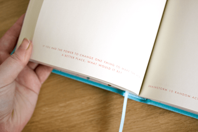 Kikki.K 365 day journal writing prompt