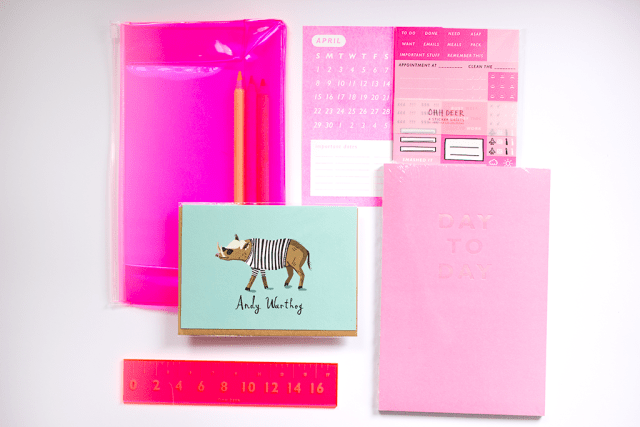 ohdeer papergang stationery subscription box