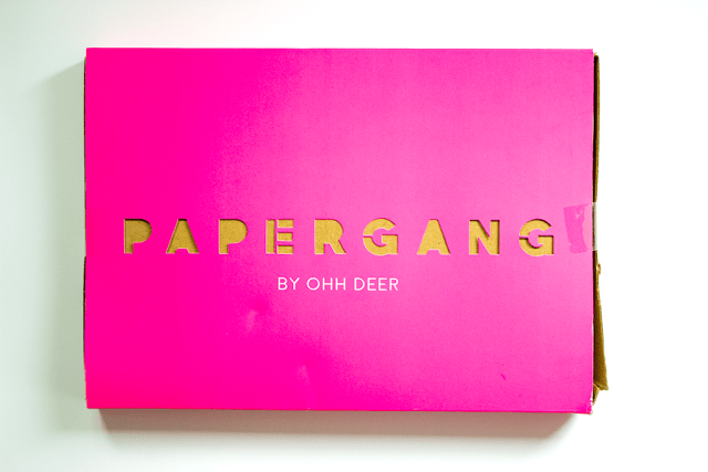 papergang ohdeer subscription bullet journal box