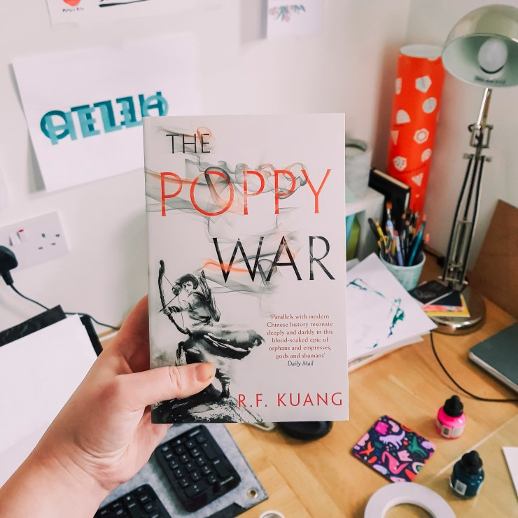 Cover of The Poppy War by RF Kuang