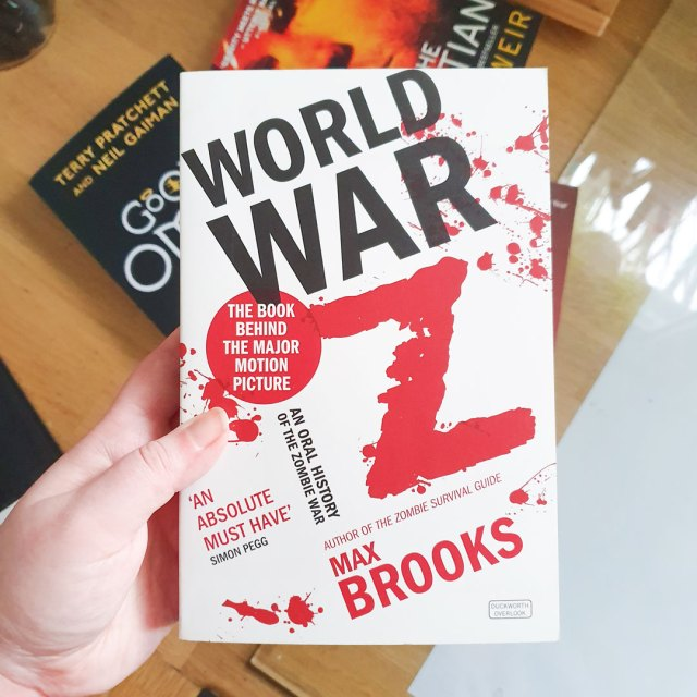 Cover of World War Z by Max Brooks.