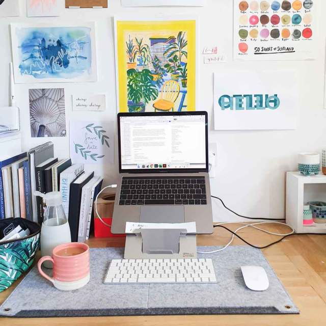 How to create a productive workspace.