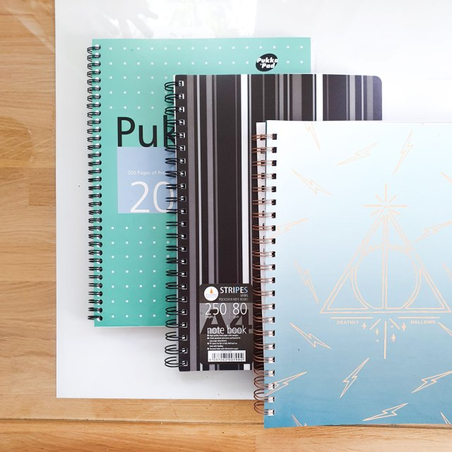 Pukka pads. How to bullet journal on a budget.