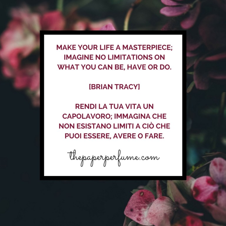 Make your life a masterpiece...