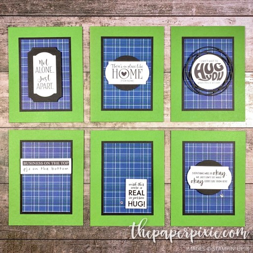 This is a handmade card made with the Share Sunshine Stampin' Up! download with sentiments.