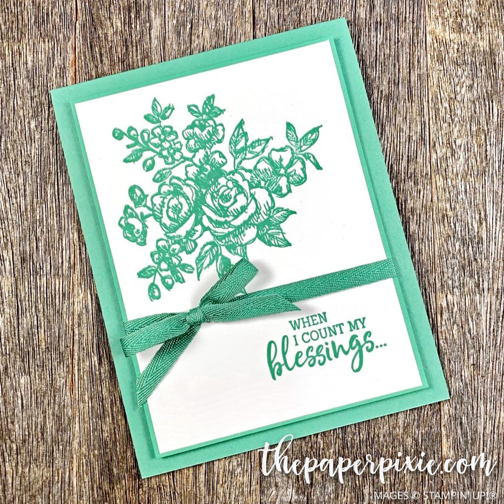 Fancy Phrases Handmade Card