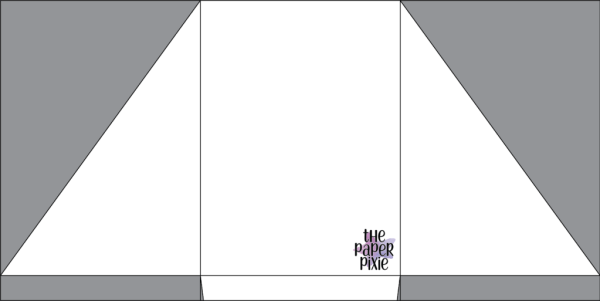 This is a template created by the Paper Pixie to assist you in making the Well Suited Pocket Fold Card.