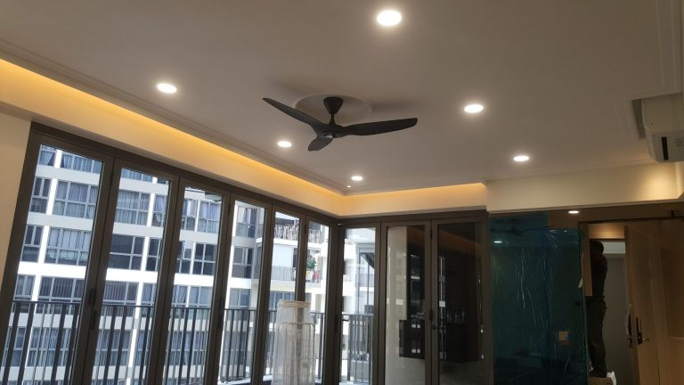 False Ceiling with side covelight