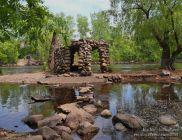 Castle Island in the Rum River (Anoka, MN)