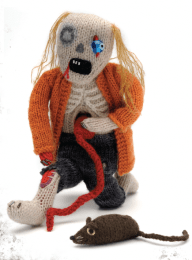Classic Zombie Doll Knitting Pattern from CraftFoxes