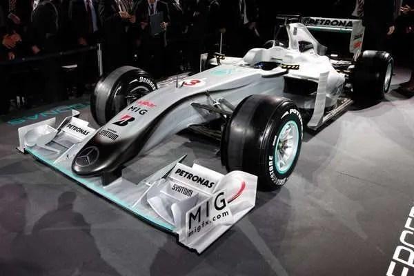 MercedesGP Petronas Launch 2