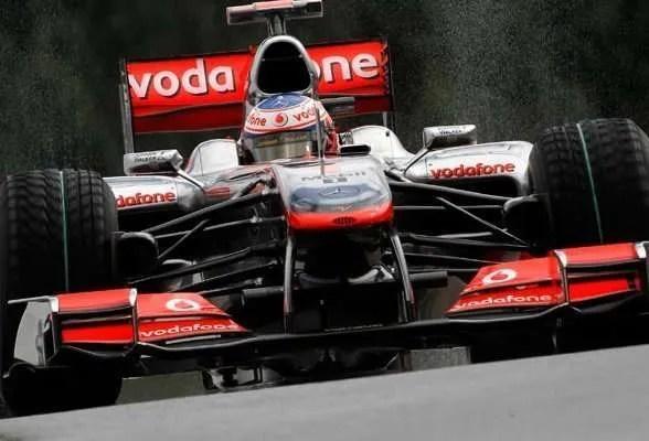 McLaren at Spa