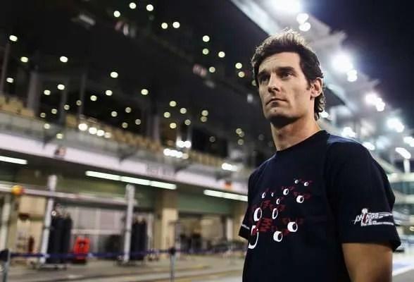 Webber at Abu Dhabi