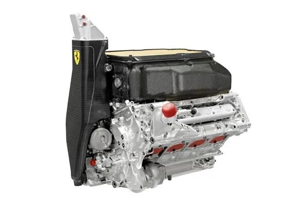 Ferrari 2013 F138 engine c600