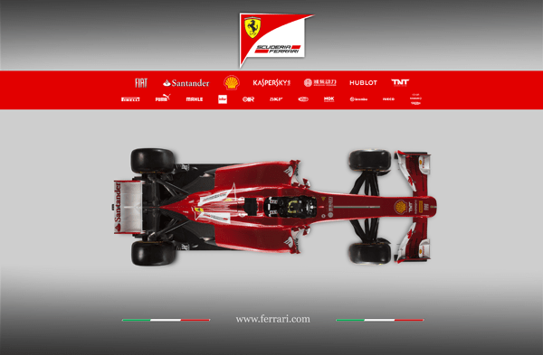 Ferrari top F138 C600 2013