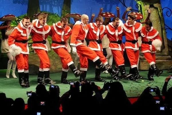 ferrari christmas dance