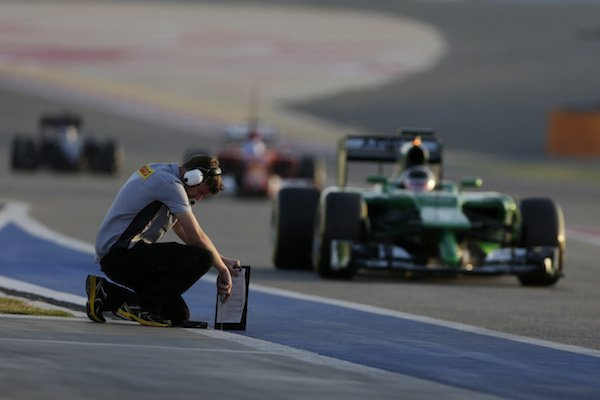 Pirelli test track temp c600
