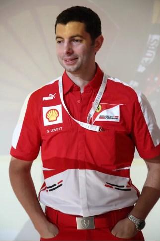 Lovett Guy Shell Ferrari