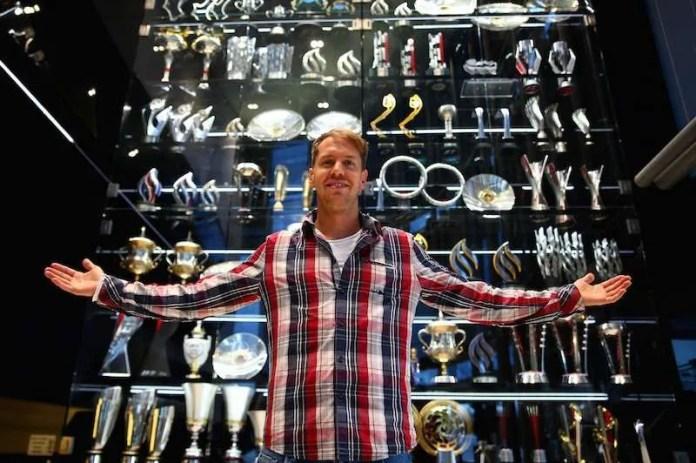 Sebastian Vettel Visits The Red Bull Racing Factory