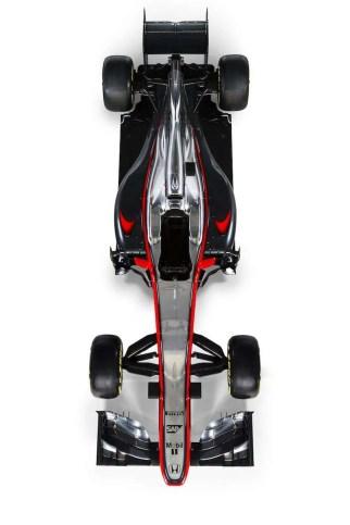 McLaren MP4-30 - Overhead