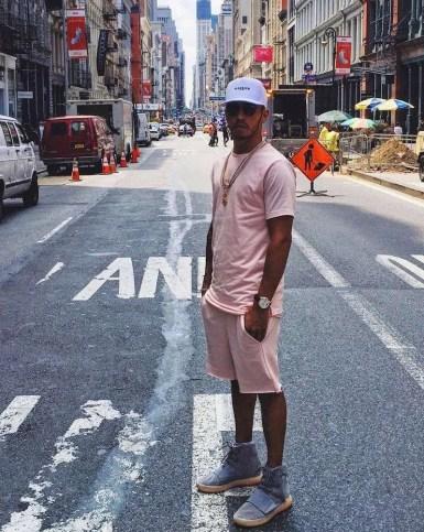 Hamilton Lewis Pastel Pink NYC