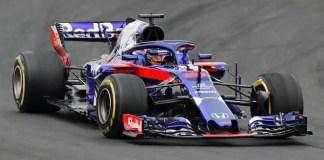 Scuderia Toro Rosso's application of the halo system.