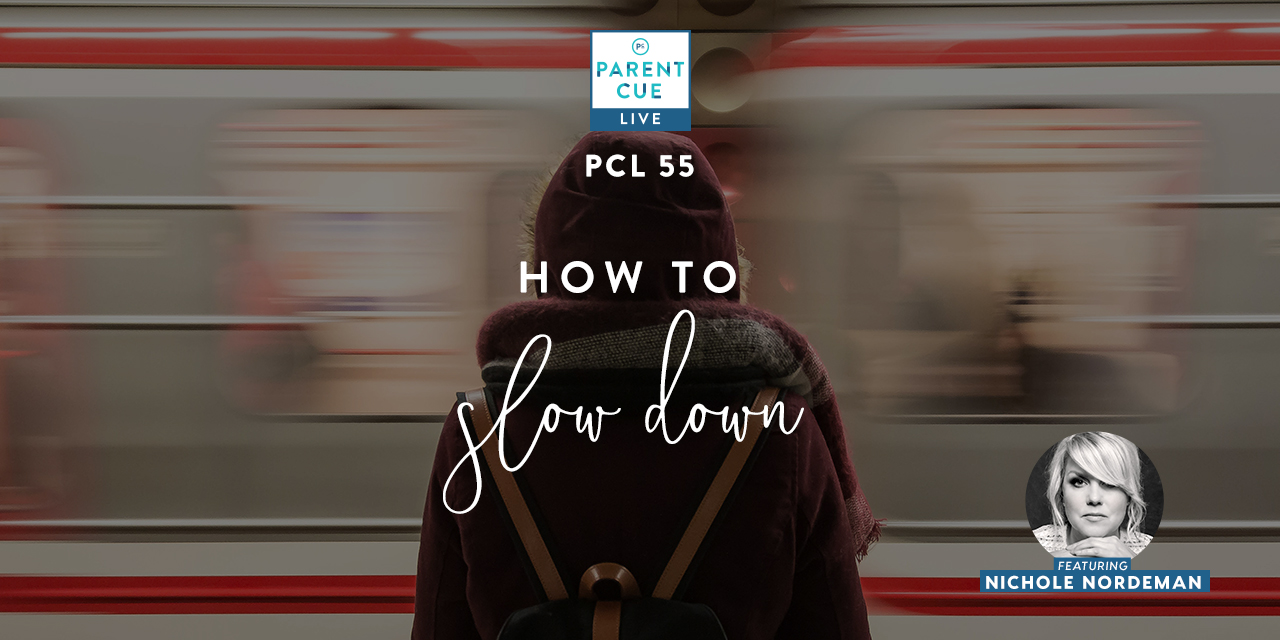 PCL 55 : How to Slow Down