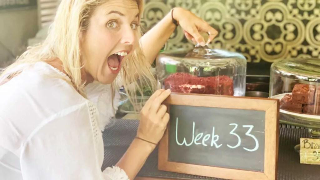 33 weeks pregnant